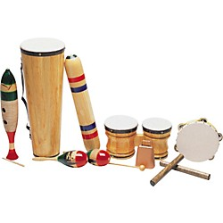 Rhythm Band Latin-American 8-Piece Junior Set (RLA61)