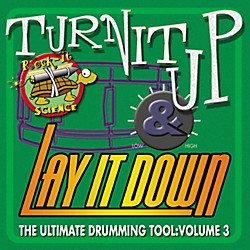 RhythmTech Turn It Up Lay It Down Volume 3 Rock It Science (CD) (RT9203)