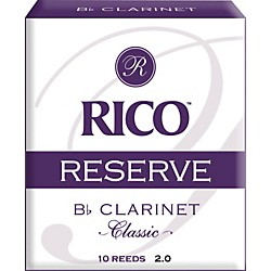 Rico Reserve Classic Bb Clarinet Reeds (RCT1020)