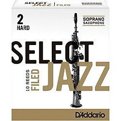 Rico Select Jazz Filed Soprano Saxophone Reeds (RSF10SSX2H)