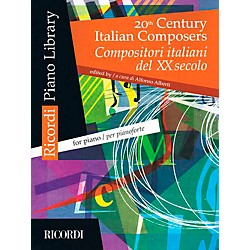 Ricordi 20th Century Italian Composers For Piano (50497655)
