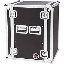 Road Runner Deluxe 16U Amplifier Rack Case (16RRUAD)