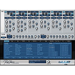 Rob Papen Blue FM Synthesis Virtual Synth Software Download (TSPAPEN102SN)
