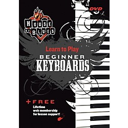 Rock House Blues Beginner Keyboards DVD (14027234)
