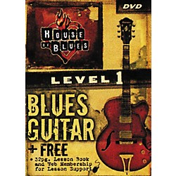 Rock House Blues Guitar Level 1 (DVD) (14027227)