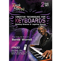 Rock House Creative Techniques for Keyboard Building Grooves & Layering Sounds (2-DVD Set) (14007777)