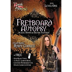 Rock House Fretboard Autopsy - Scales, Modes & Melodic Patterns, Level 1 Featuring Rusty Cooley DVD (14011818)