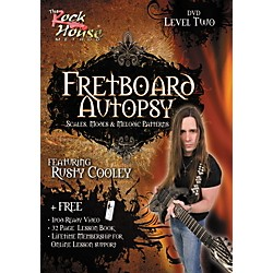 Rock House Fretboard Autopsy - Scales, Modes & Melodic Patterns, Level 2 Featuring Rusty Cooley (DVD) (14011817)