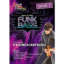 Rock House Funk Bass Level 1 with Freekbass (DVD) (14027243)