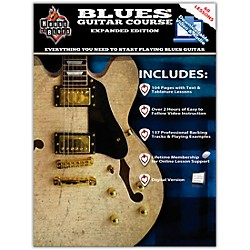 Rock House House Of Blues - Blues Guitar Course Expanded Edition Book/2-DVD Set (14041784)