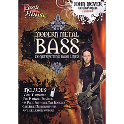 Rock House John Moyer Of Disturbed - Modern Metal Bass (Constructing Bass Lines) DVD (14041697)