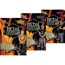 Rock House Learn Metal Guitar Beginner, Intermediate, & Advanced Package (KIT-942889)