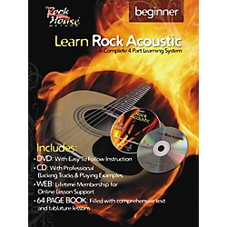 Rock House Learn Rock Acoustic Beginner Book/DVD/CD Combo (14027247)