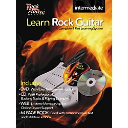 Rock House Learn Rock Guitar Intermediate Book/DVD/CD Combo (14027267)