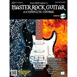 Rock House Master Rock Guitar A Complete Course Book/2-DVD Pack (14041716)