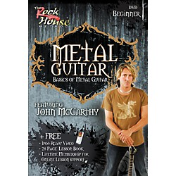 Rock House Metal Guitar Beginner DVD (14027256)