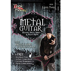Rock House Metal Guitar Melodic Speed, Shred & Heavy Riffs Level 2 With Alexi Laiho of Children of Bodom DVD (14022173)