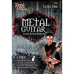 Rock House Metal Guitar with Leads, Runs & Rhythms with Dan Jacobs DVD (14021343)