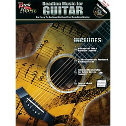 Rock House Reading Music For Guitar - An Easy to Follow Method for Reading Music (Book/CD) (110200)