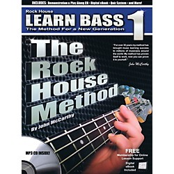 Rock House The Rock House Method - Learn Bass Guitar Book 1 (Book/CD) (102681)