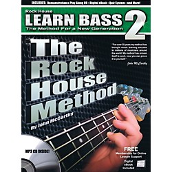 Rock House The Rock House Method - Learn Bass Guitar Book 2 (Book/CD) (102682)