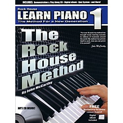 Rock House The Rock House Method - Learn Piano Book 1 (Book/CD) (109244)