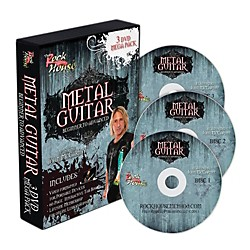 Rock House The Rock House Method Metal Guitar Mega Pack (3-DVD Set) (14041537)