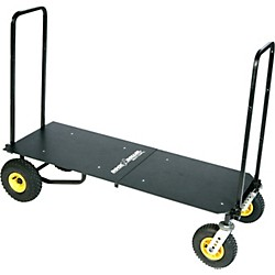 Rock N Roller R12 Multi-Cart 8-in-1 Equipment Transporter Cart With Deck (R12DECK)