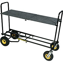 Rock N Roller R12 Multi-Cart 8-in-1 Equipment Transporter Cart With Shelf (R12SHELF)