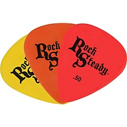Rock Steady Deluxe Guitar Picks - 1 Dozen (RPDX)