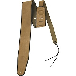 Rock Steady RSSL01 Suede With Black Edge Guitar Strap (RSSL01)