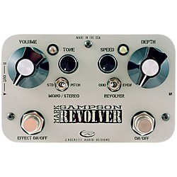 Rockett Pedals Mark Sampson Revolver Stereo Boost/EQ Guitar Effects Pedal (9520-014)