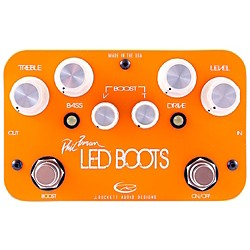 Rockett Pedals Phil Brown Led Boots Signature OD/Boost Guitar Effects Pedal (9520-016)