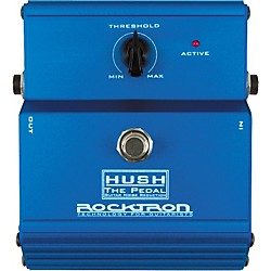 Rocktron HUSH Noise Reduction Pedal (USED004000 001-1406)