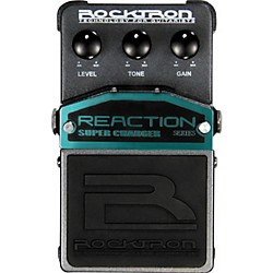 Rocktron Reaction Super Charger Overdrive Guitar Effects Pedal (001-1623)