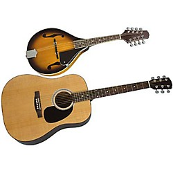 Rogue Acoustic Guitar and Mandolin Pack (KIT774711)