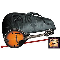 Rogue Mandolin Starter Kit Regular (Kit-519274_41M400_Black)