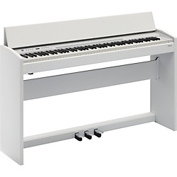 Roland F-120 SuperNATURAL Piano (White) (F-120-WH)