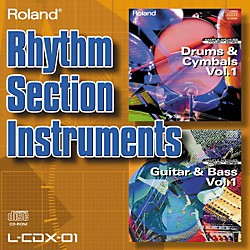Roland L-CDX-01 Rhythm Section Instruments (L-CDX-01)