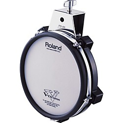 Roland PD-85 Mesh Dual Zone V Drum Trigger Pad (PD-85BK)