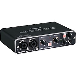 Roland Quad Capture USB 2.0 Audio Interface (USED004000 UA-55)