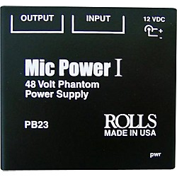 Rolls PB23 Phantom Power Adapter (PB23)