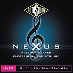 Rotosound Nexus Polymer Extra Light Coated Electric Strings (NXE9-581797)