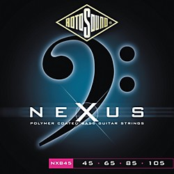 Rotosound Nexus Polymer Light Coated Bass Strings (NXB45-581803)