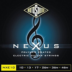 Rotosound Nexus Polymer Light Coated Electric Strings (NXE10-581798)
