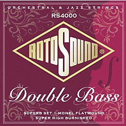 Rotosound RS4000 Superb 3/4 Size Double Bass Strings (RS4000)
