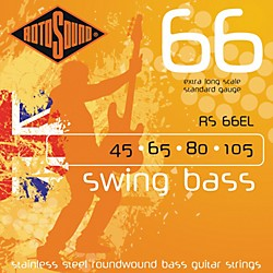 Rotosound RS66EL Extra Long Scale Bass Strings (RS66EL)