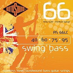 Rotosound RS66LC Long Scale Swing Bass Strings (RS66LC)
