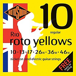 Rotosound Roto Yellows Electric Guitar Strings (R10)