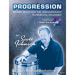 Row-Loff Progression Fifteen Solos for the Contemporary Rudimentary Drummer Book (1023)